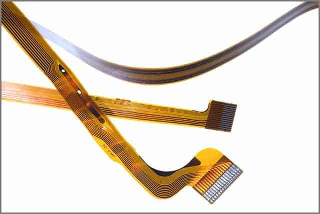 An image of flat flexible cable