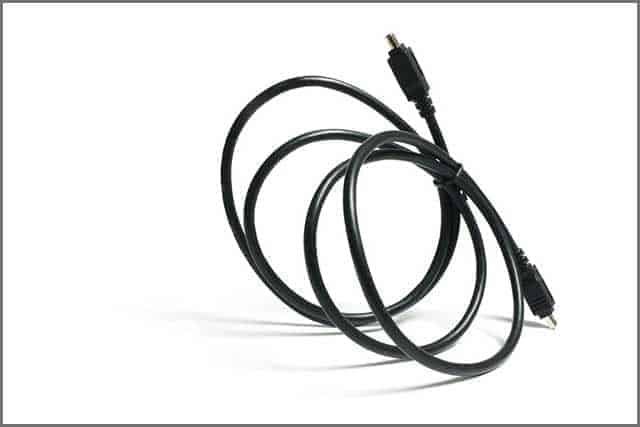 A FireWire Cable