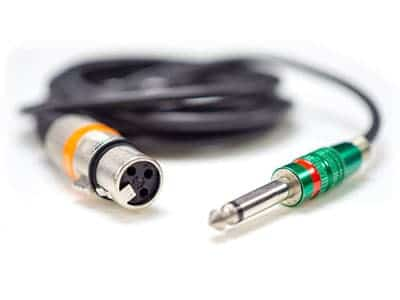 XLR and TRS jack cable