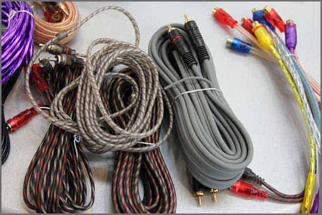 Custom Speaker wire cable