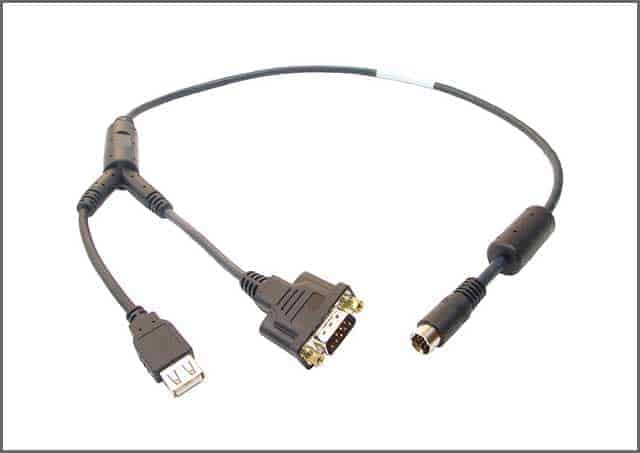 Custom USB Y Cable