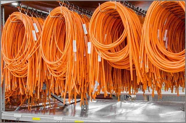 Coils of electrical wires for installation in cars