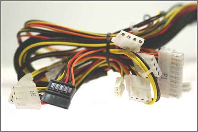 Computer cable harness