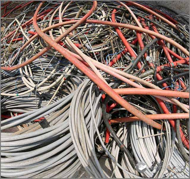 Managing cables can be difficult
