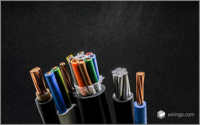 Different types of jacketed cables for different applications
