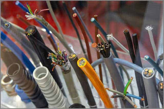 Data security for networking cables