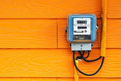 Traditional electricity meter