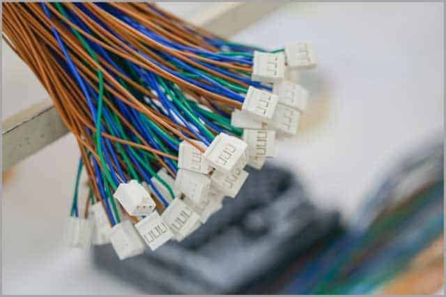 Colorful Wire set for assembling electrical appliances