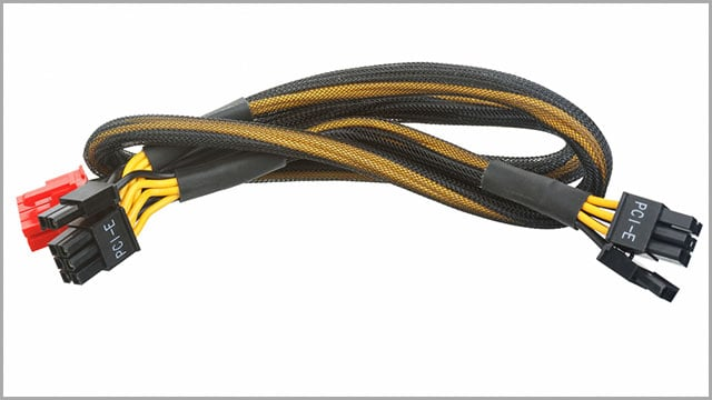 A PCIe cable
