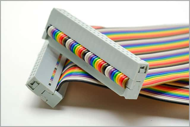 Ribbon Cable with a Terminator