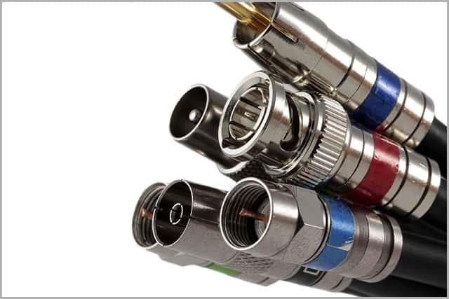 coax terminator plugs/caps