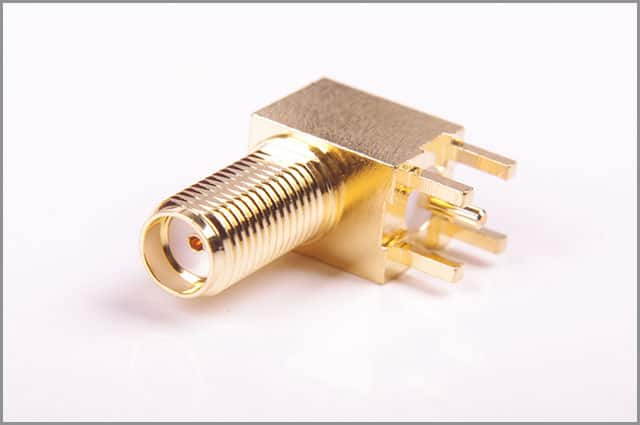 A female/jack connector