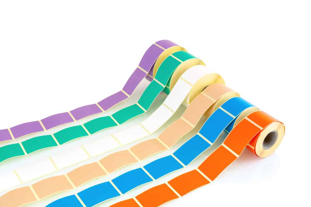 Color rolls for custom color coding