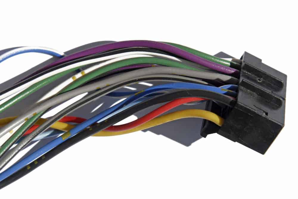Car Stereo wiring harness.