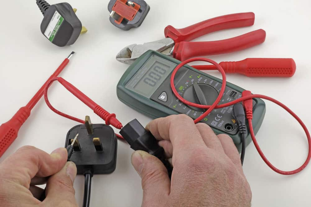 Combine Visual Examination and Electrical Testing