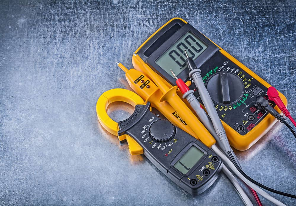 Digital clamp meter and electrical tester