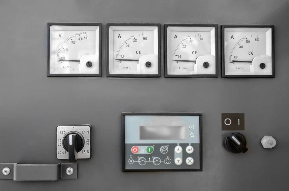 Motor Control Center Testing: Electrical control panel