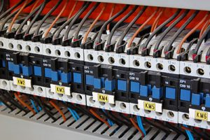 electrical relays, breakers, and ballasts